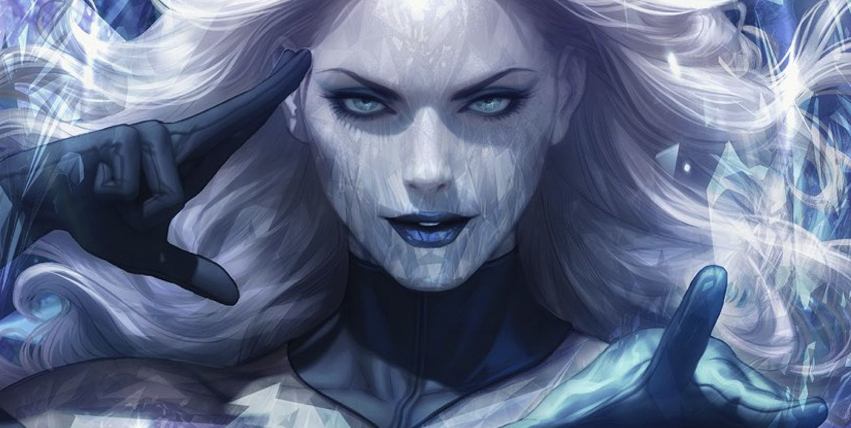 Emma Frost Reads Your Mind on Artgerm's Marvel Comics #1000 Variant
