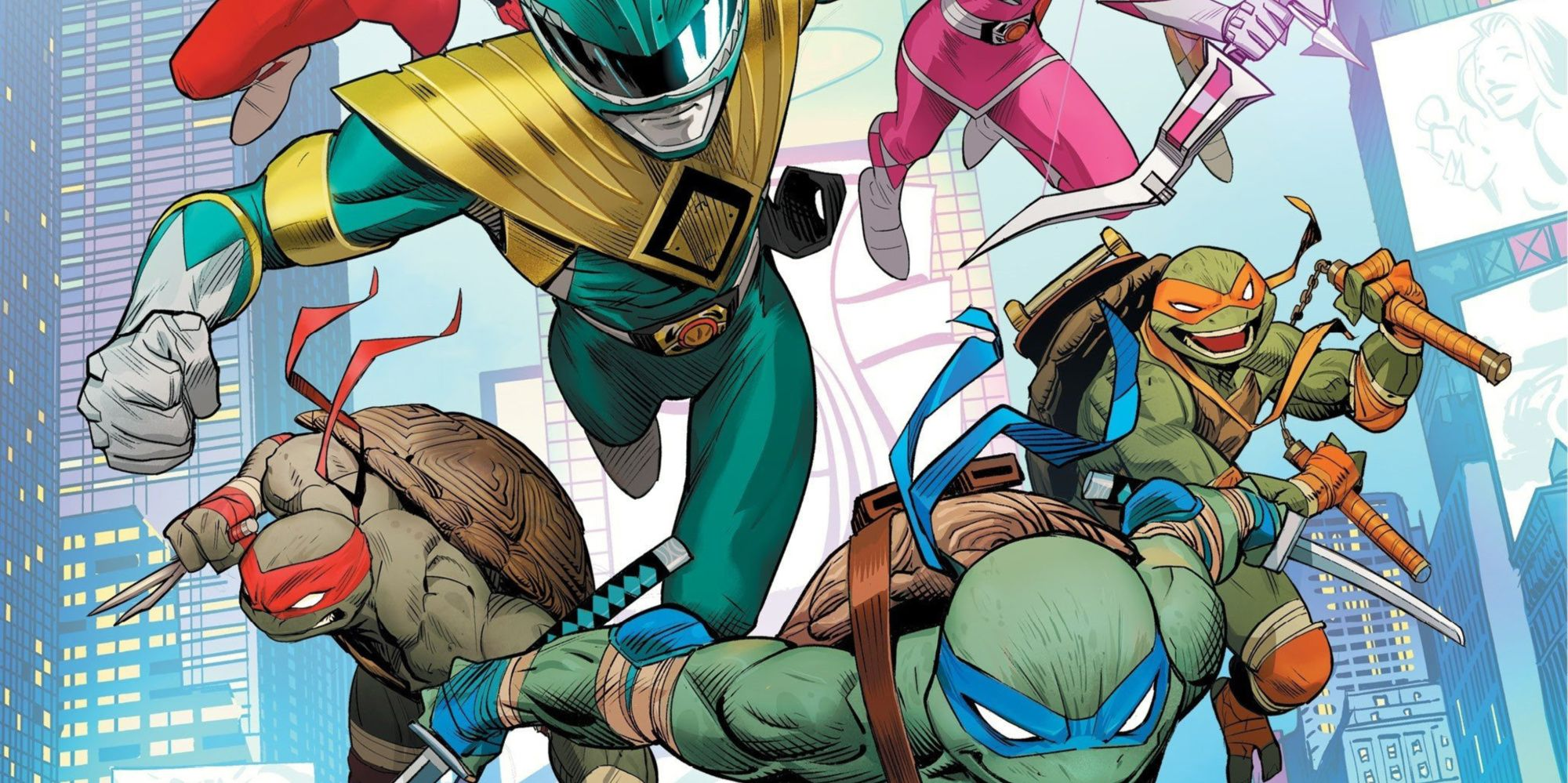 Power Rangers & TMNT to Meet for First Time in BOOM! Event Series