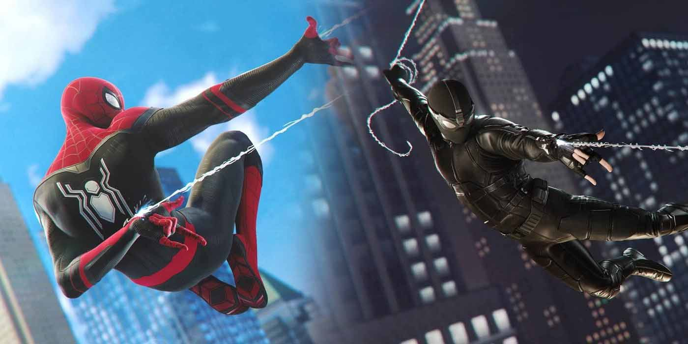 Marvel's Spider-Man PS4 Game Debuts Two Far From Home Costumes