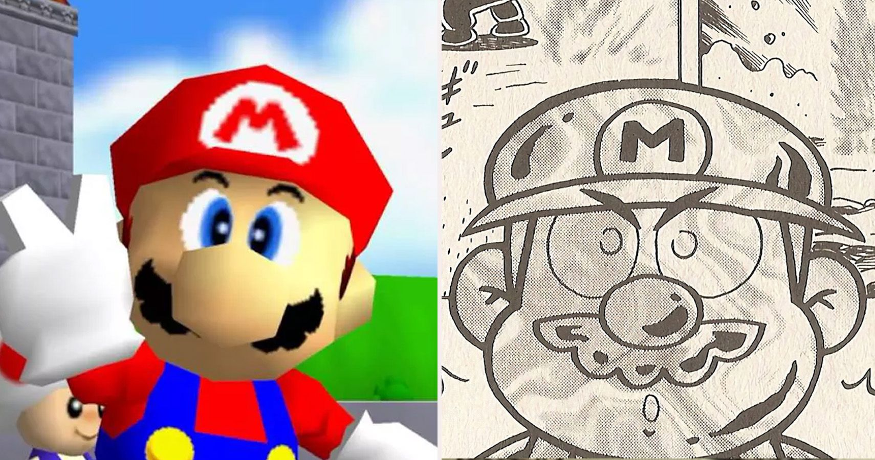 Super Mario 64: 10 Differences Between Video Game & Manga | CBR