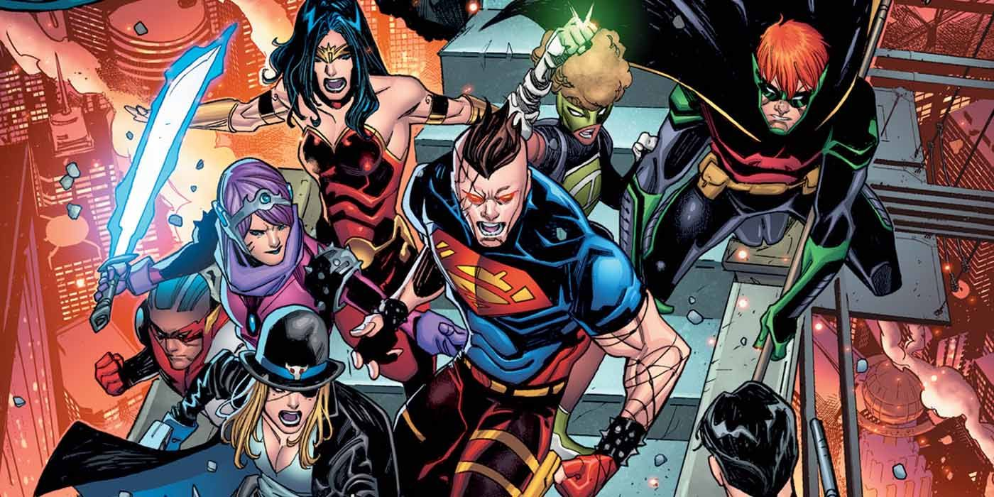 Young Justice Is Going To Meet Their Evil Crime Syndicate Counterparts