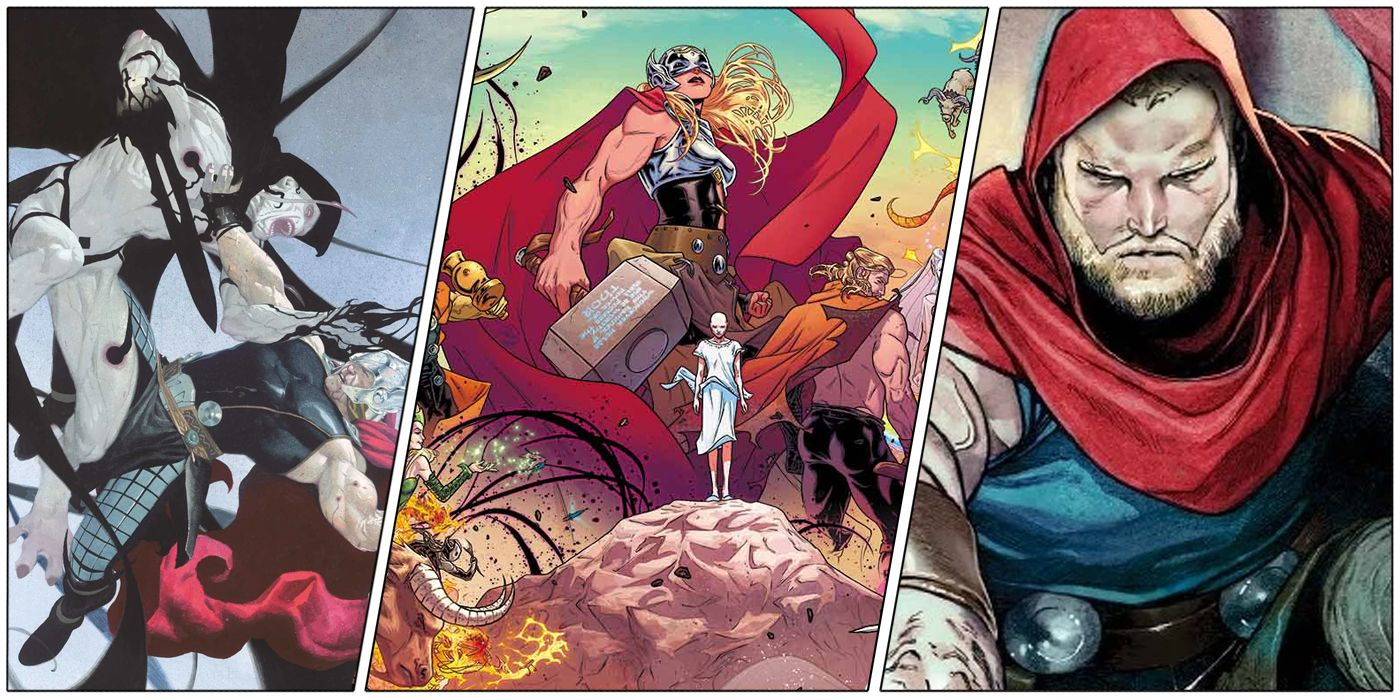 10 Comics To Read Before Thor Love And Thunder Cbr