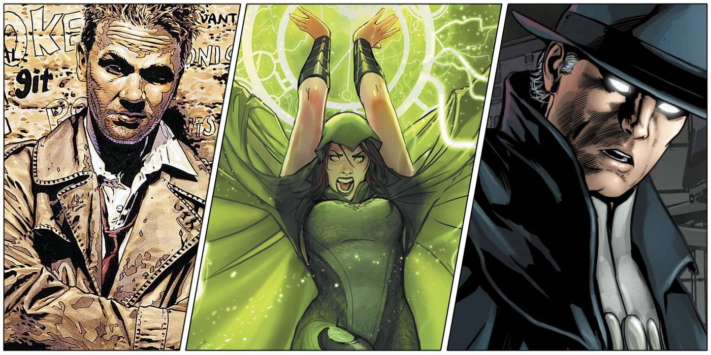 DC's 10 Most Powerful Magic Users, Ranked   CBR