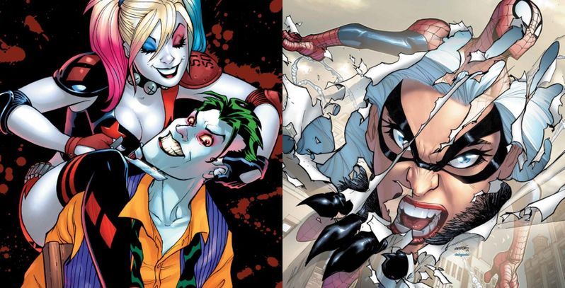 10 Comic Book Couples You Wouldn T Think Are More Twisted