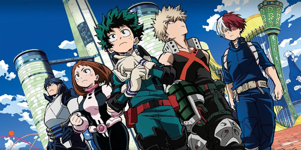 My Hero Academia: The Strongest & Weakest Students in Class 1-A