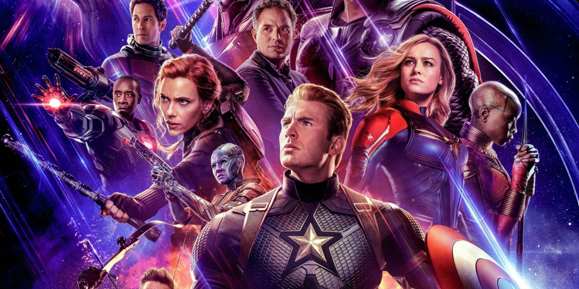 Avengers: Endgame Key Art Assembles the Entire Team | CBR