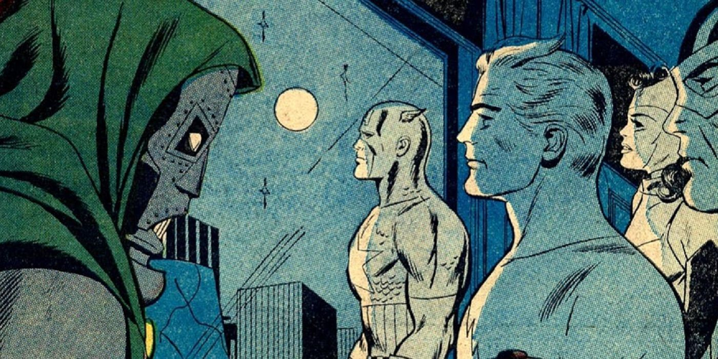 Doctor Doom Is So Bored, He's Even Decided to Attack the Avengers