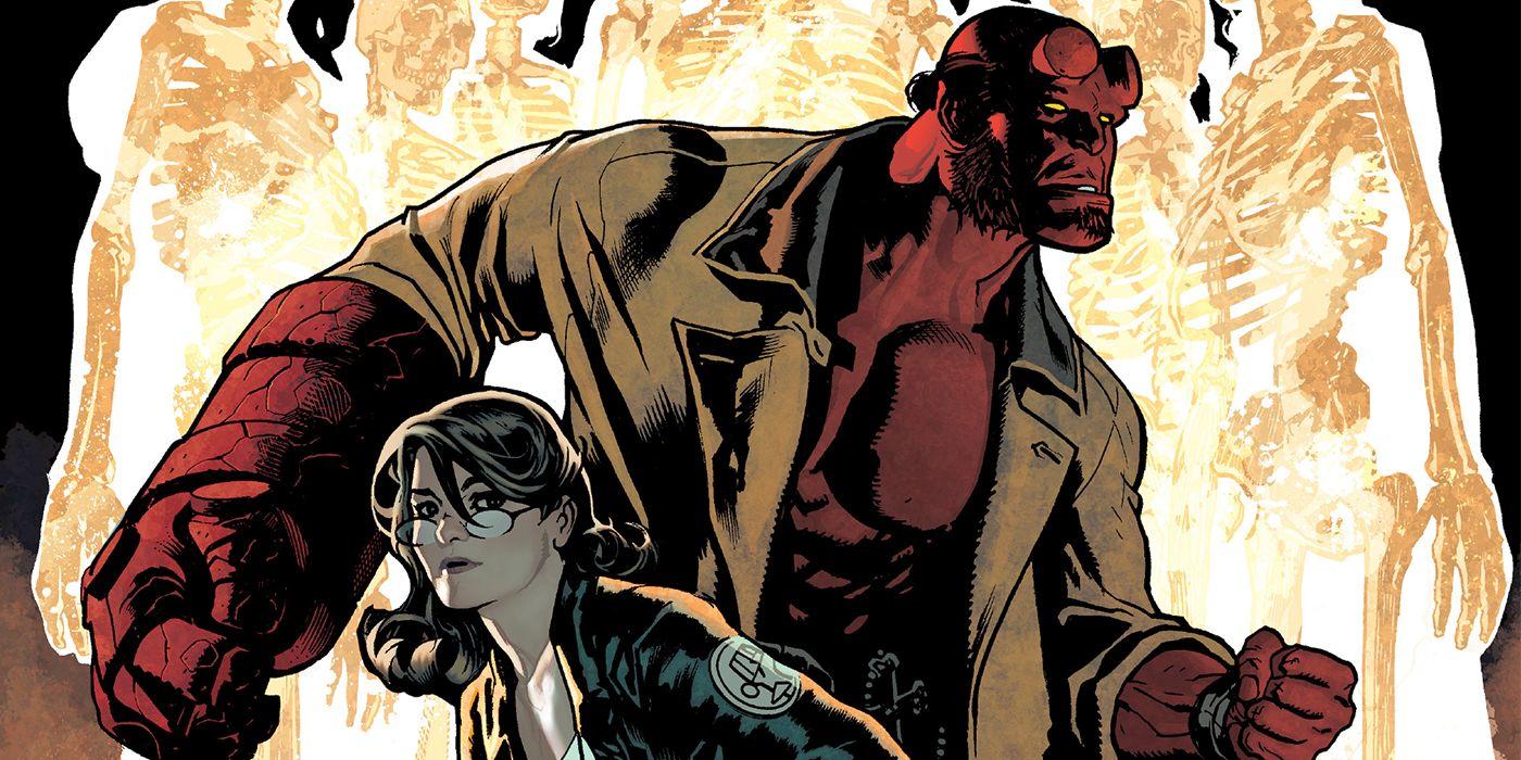 Hughes, Mignola Reunite for Hellboy & the BPRD: The Seven Wives Club