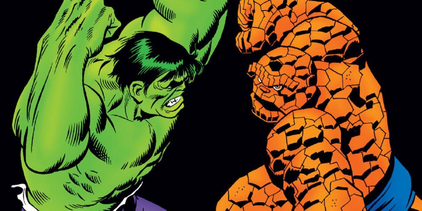 Clobbering Times: A History of Hulk vs. Thing Battles | CBR