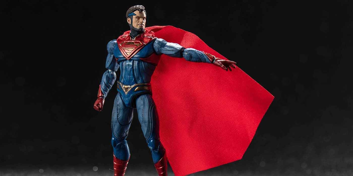 PREVIEWS Exclusive Superman 1/18 Scale Figure Delivers Truth and Injustice