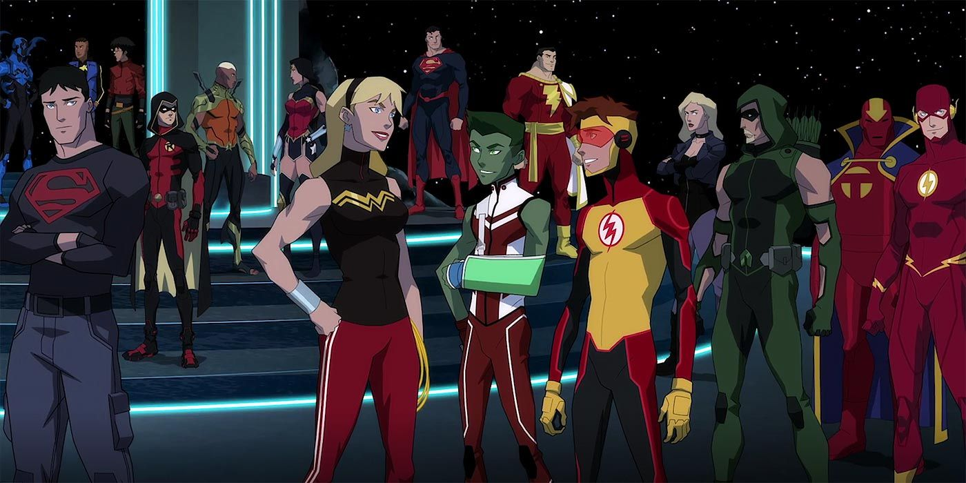 Young Justice: Outsiders Finale Teases the Legion of Super ...Young Justice Season 3 Characters