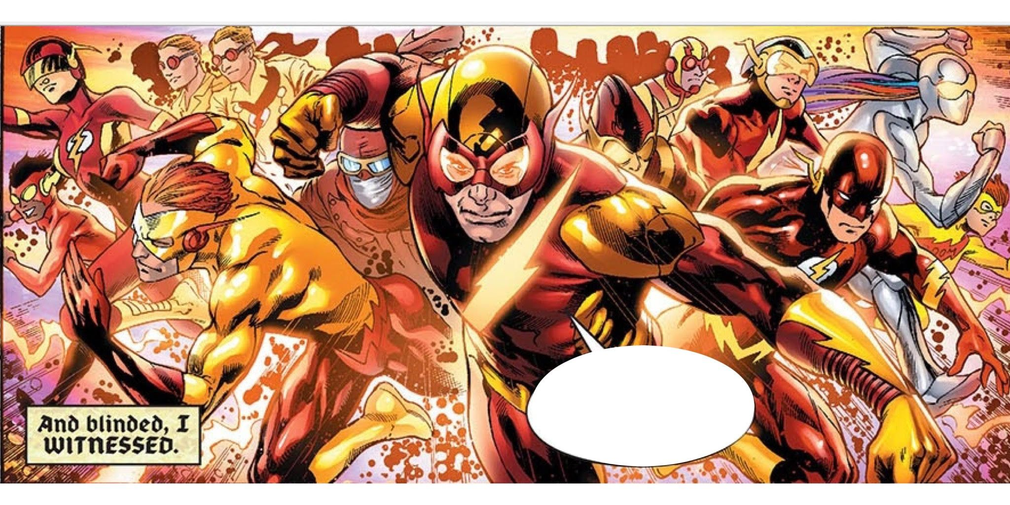 Ranked: 10 Alternate Versions Of The Flash (That Aren't Barry Allen Or Wally West)