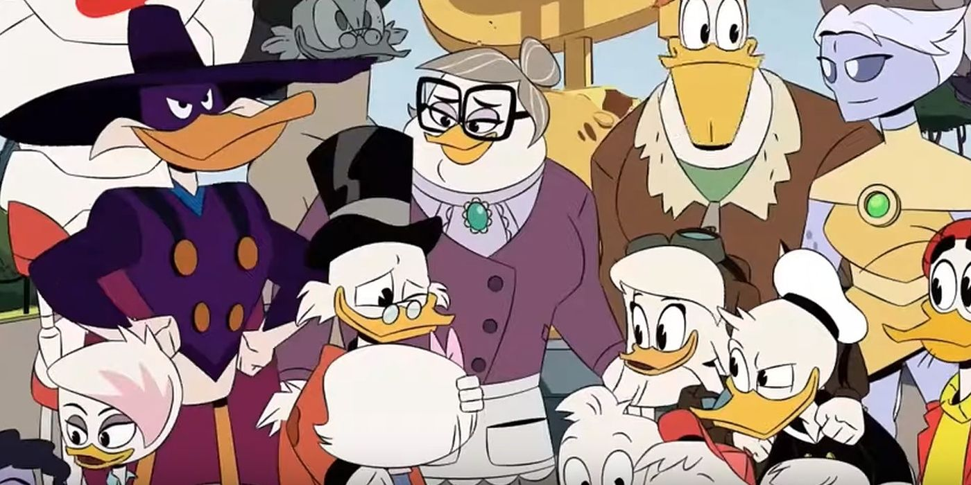 DuckTales Season 2 Finale Sets Up a Surprising Romance | CBR