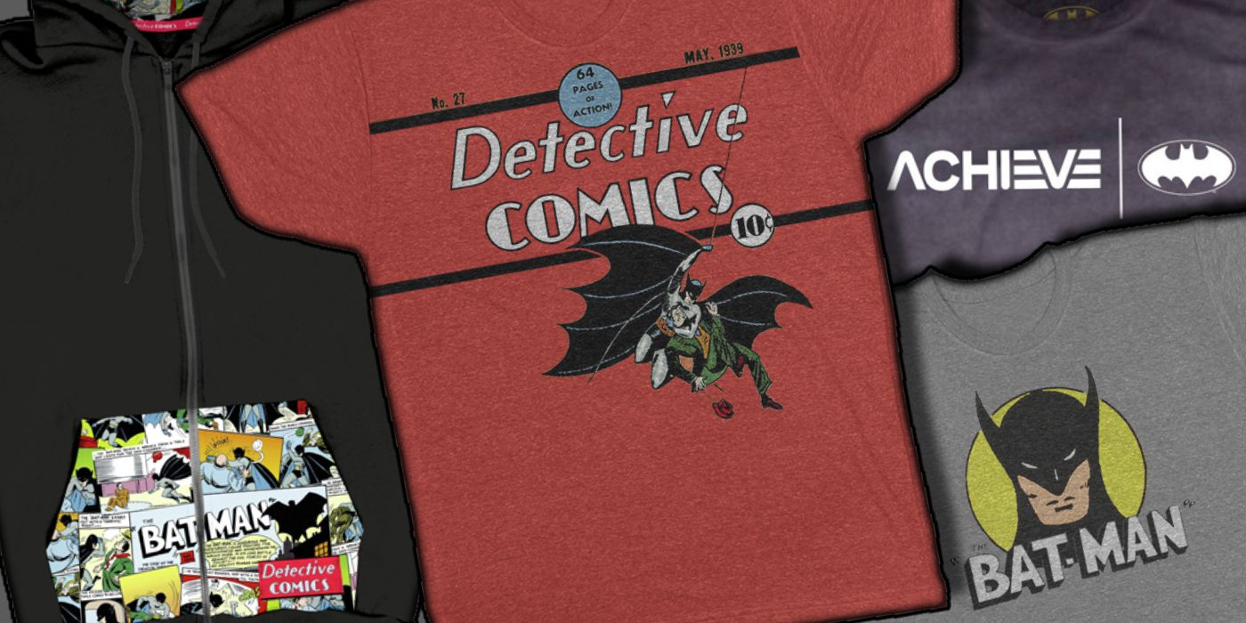 Rooster Teeth Heads Back to Batman's Debut for New Clothing Line