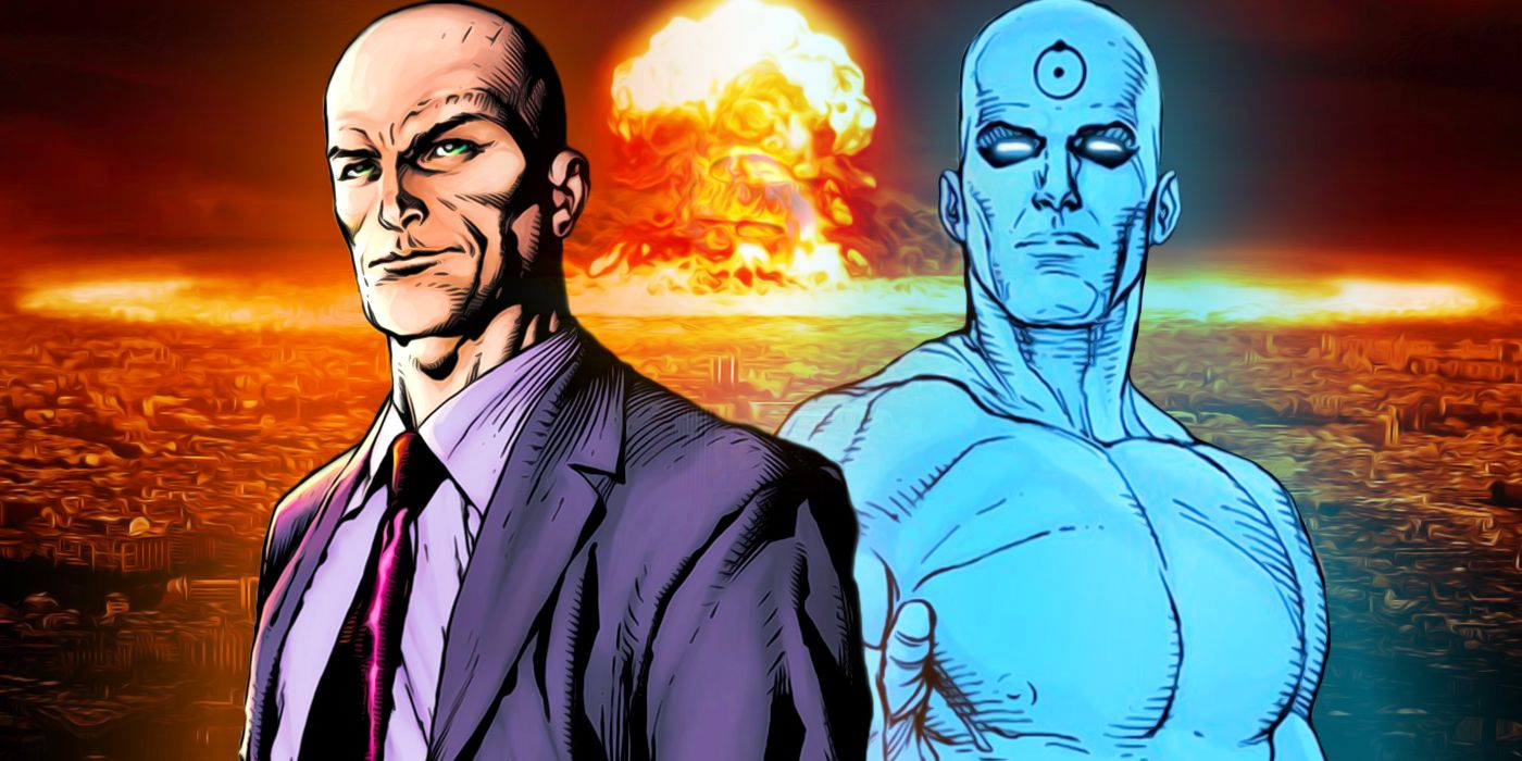 Doomsday Clock Theory: Doctor Manhattan May Be Lex Luthor   CBR