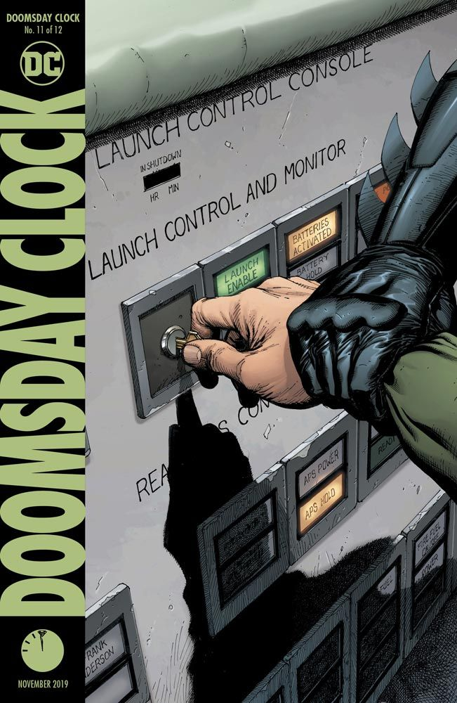 Review: Doomsday Clock #11 Slows Things Down for a Villainous Monologue