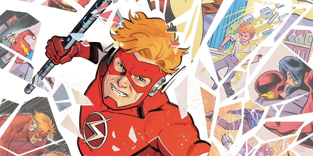 Every Wally West Era Referenced On the Flash Forward #4 Cover