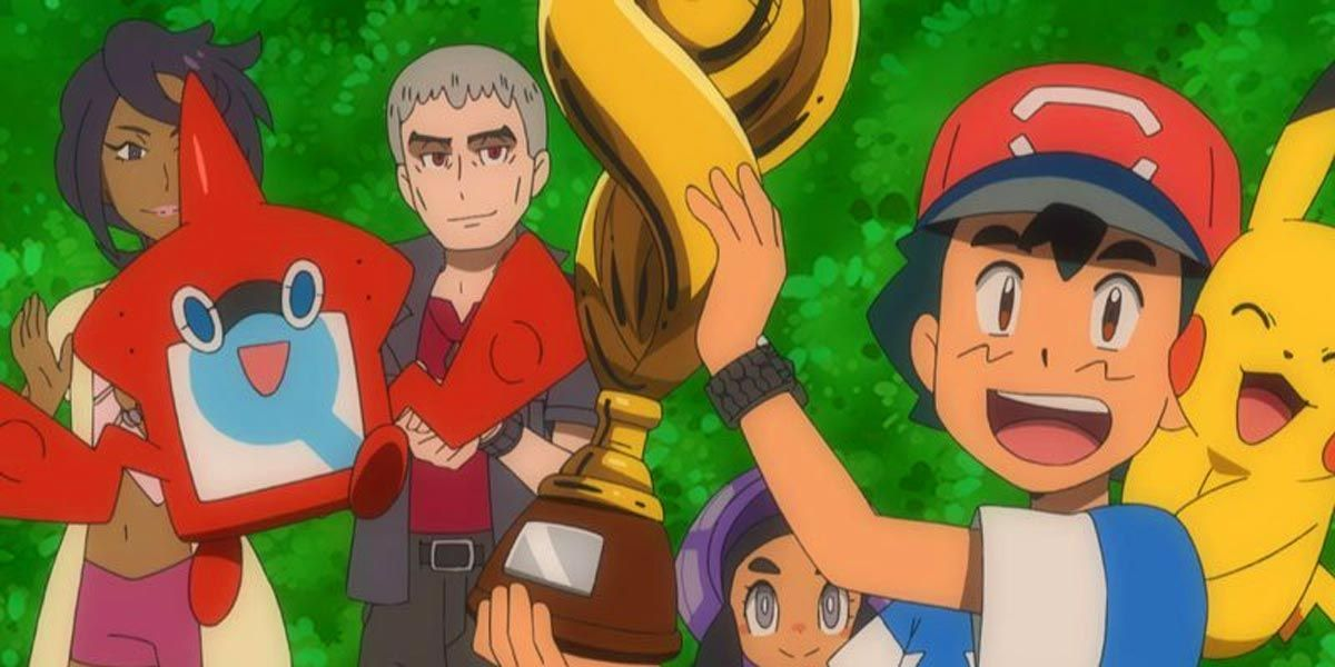 Pokémon: Ash Ketchum FINALLY Won the Pokémon League Championship