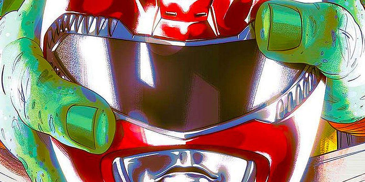 Power Rangers/Teenage Mutant Ninja Turtles Debuts Stunning Variants