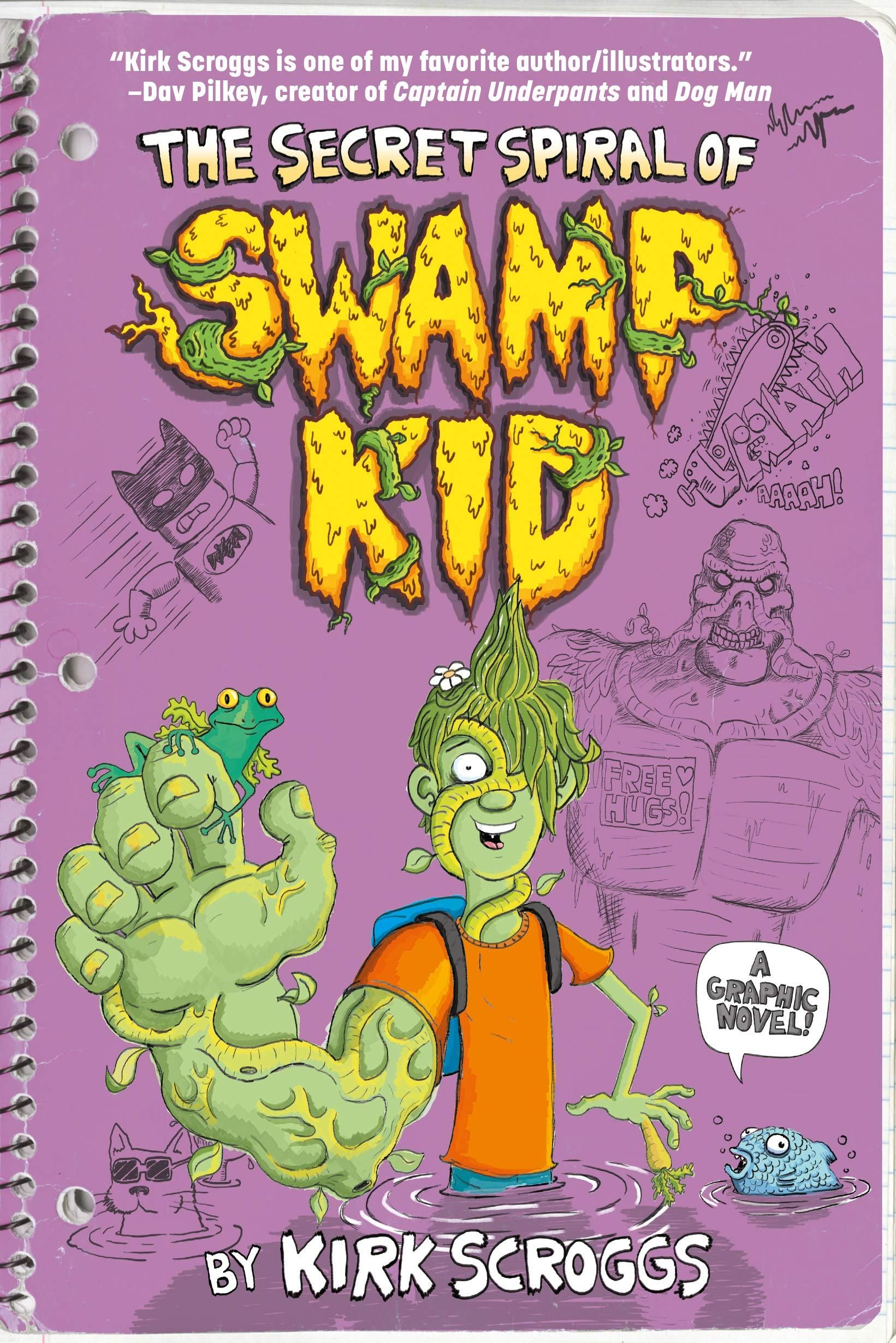 Review: The Secret Spiral of Swamp Kid | CBR