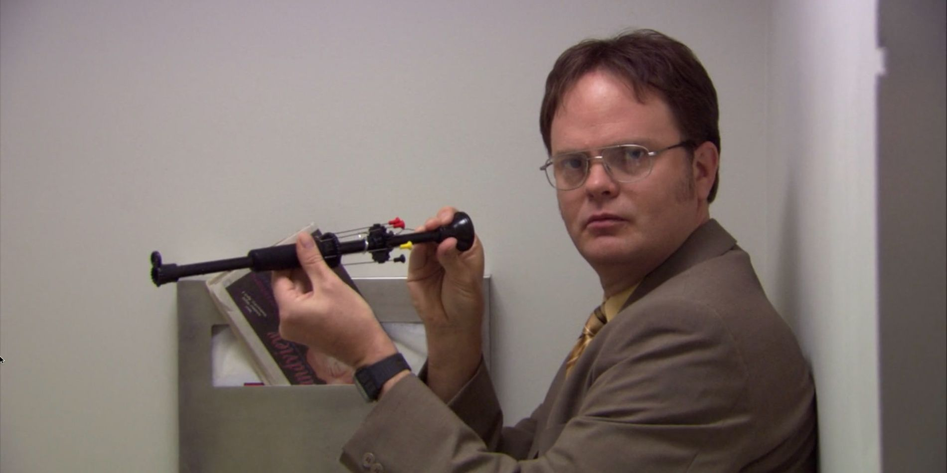Dwight Schrute's New Funko Pop! Comes With His Own Dwight