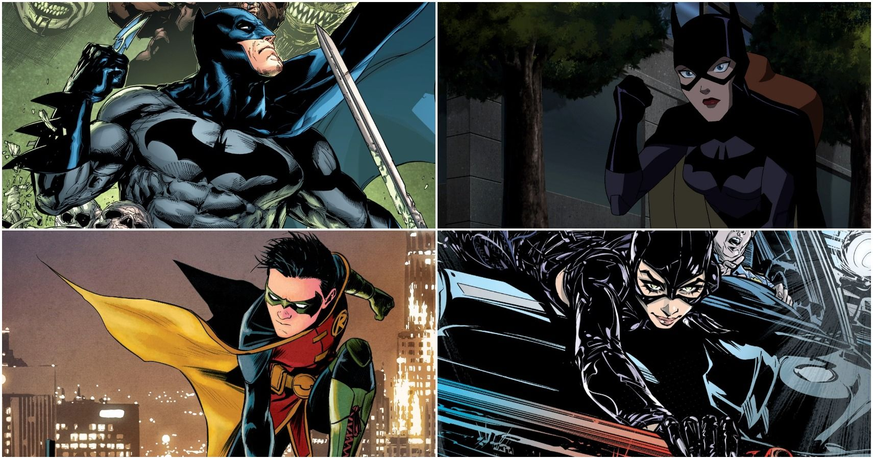 Batman Mbti Of The Bat Family Cbr