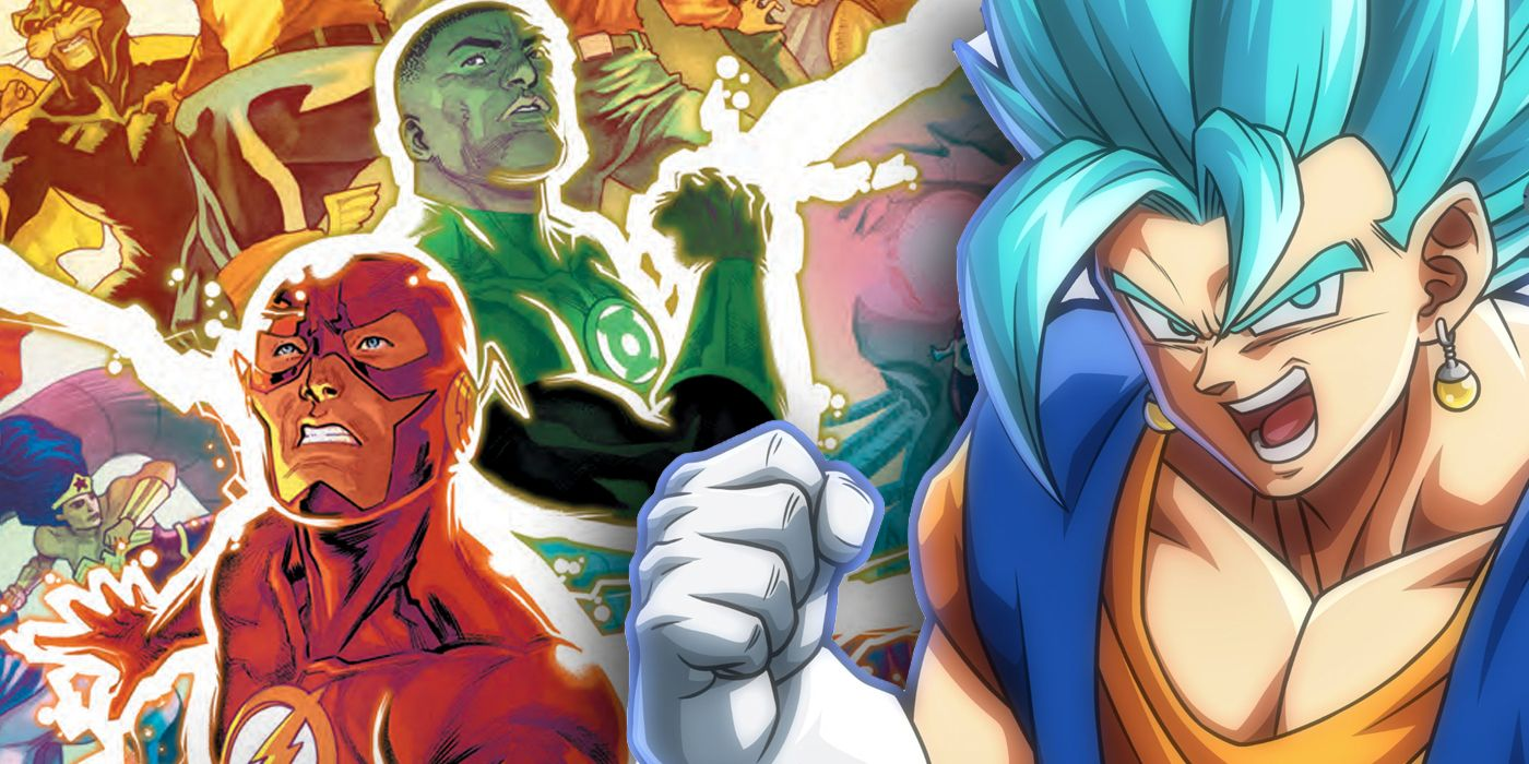 Justice League Takes a Page From Dragon Ball Z   CBR