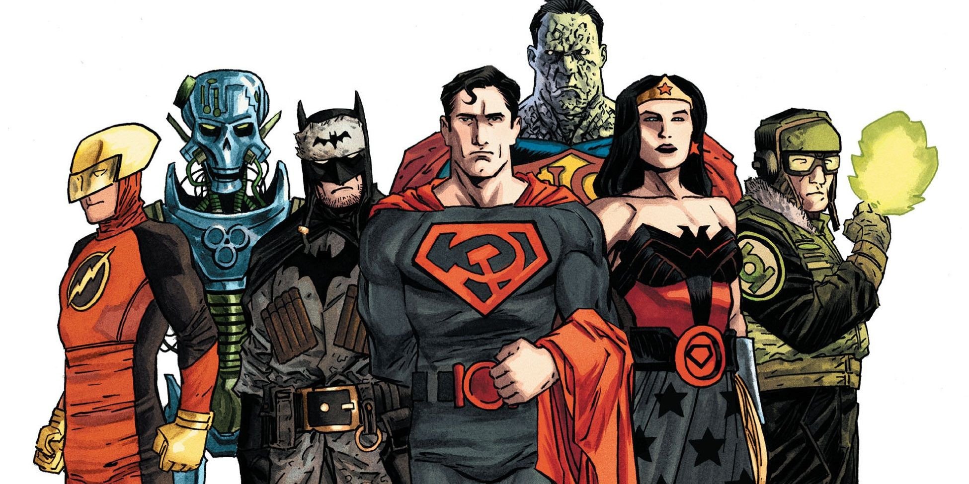 DC: 10 Of The Most Dangerous Earths In The Multiverse, Ranked