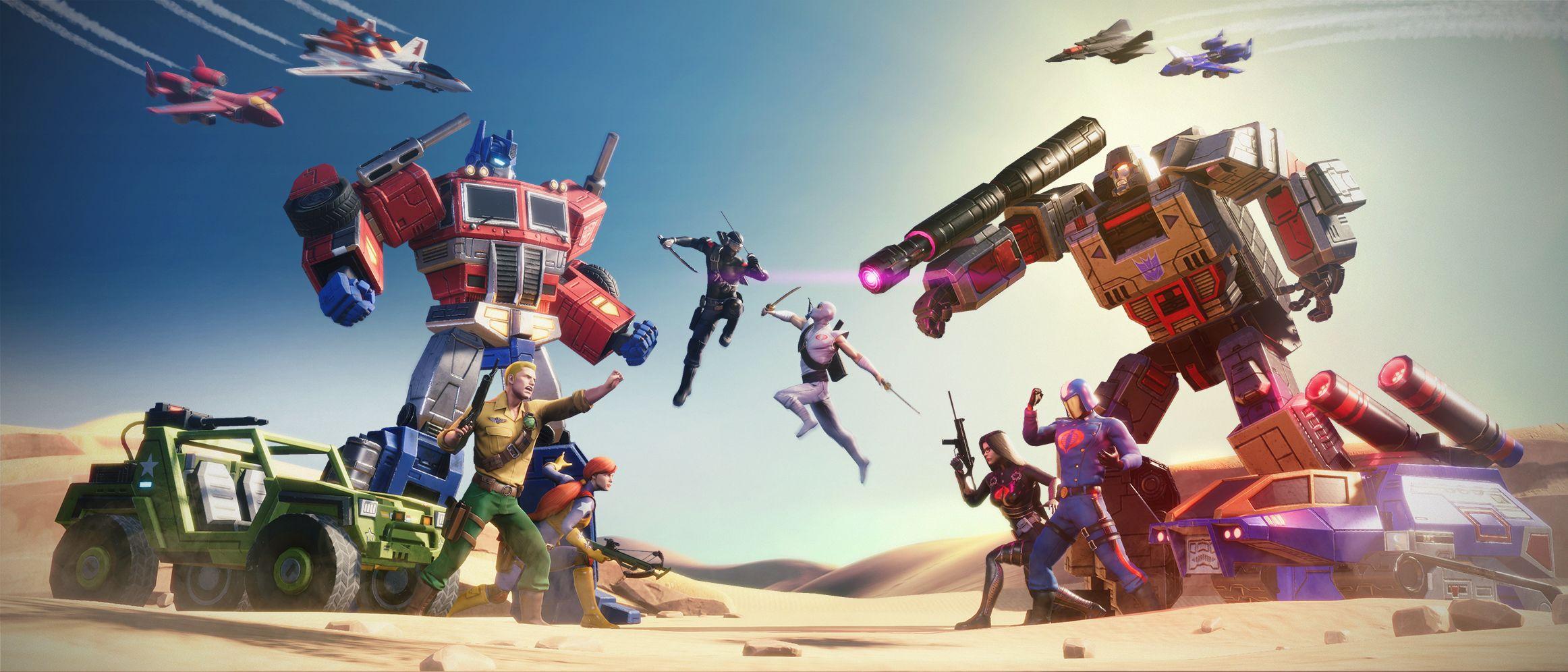 Earth Wars: GI Joe and Cobra Battle the Transformers in New Trailer
