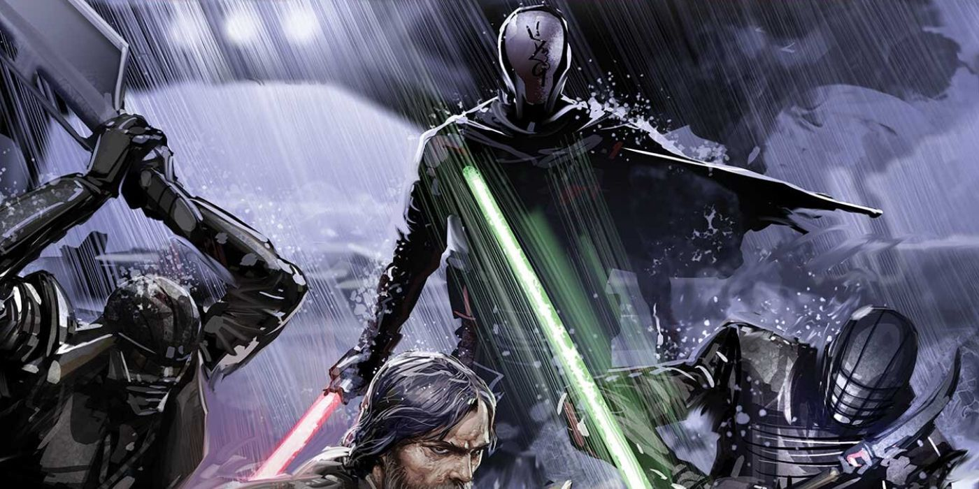 Star Wars: Rise of Kylo Ren Writer Compares Knights of Ren to Motorcycle Gang