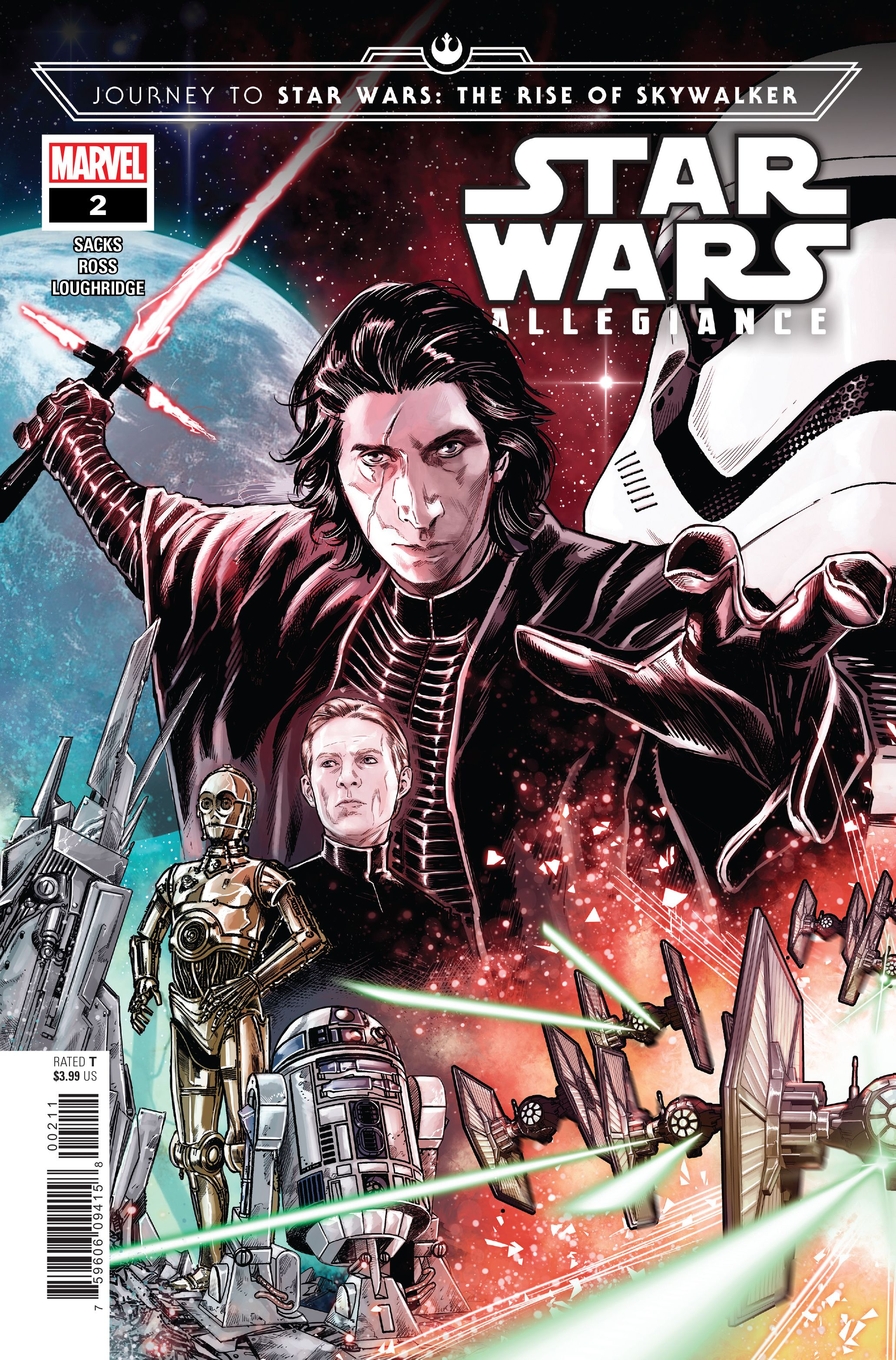 PREVIEW: Journey to Star Wars: The Rise of Skywalker - Allegiance #2