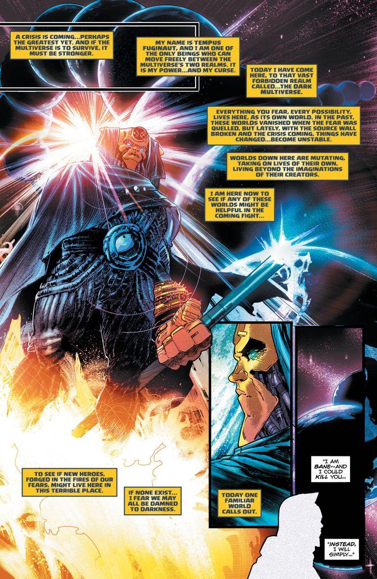 Batman Knightfall Dark Multiverse DC Comics Multiverso Oscuro Dark Nights Metal