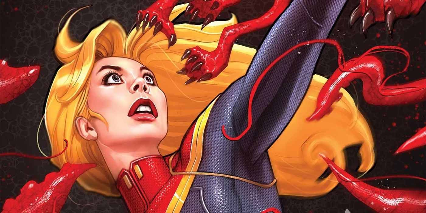 Chewie's Carnagized in First Look at Absolute Carnage: Captain Marvel #1