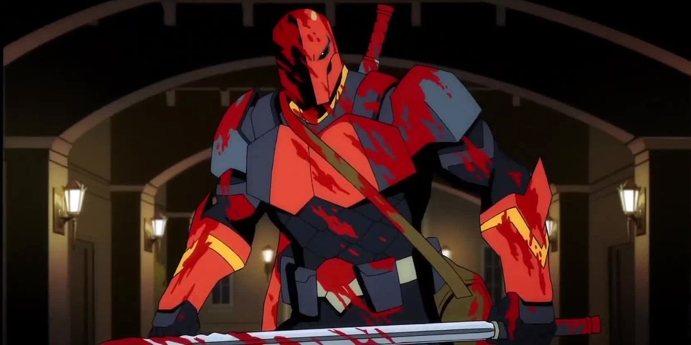 Deathstroke Animated Voice Cast Announced with Bloody Trailer