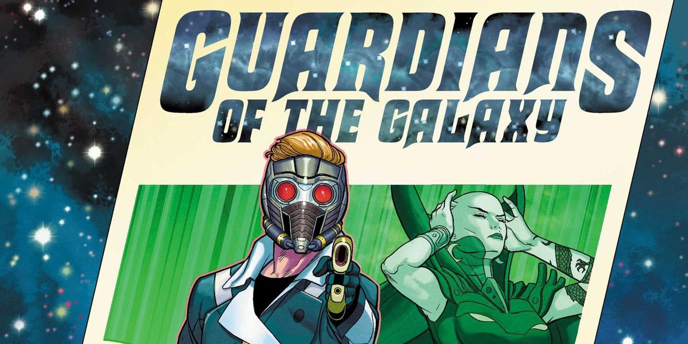 Guardians of the Galaxy Cover May Reveal New Team Roster | CBR