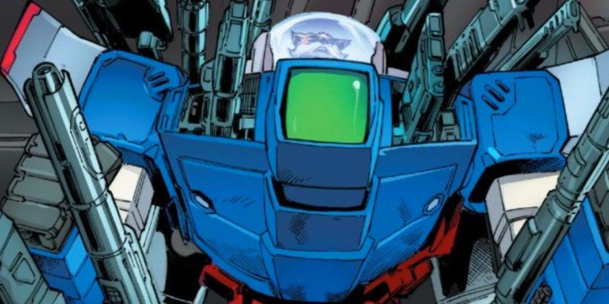 Rocket Raccoon's Gundam Suit May Be More Powerful Than the Hulkbuster