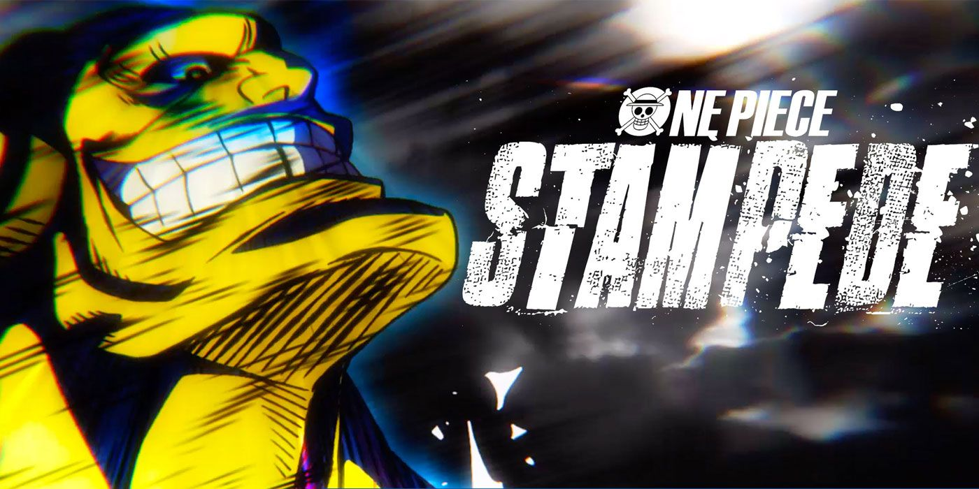 One Piece: Stampede Clip Introduces the Strongest Villain Luffy Has Ever Fought