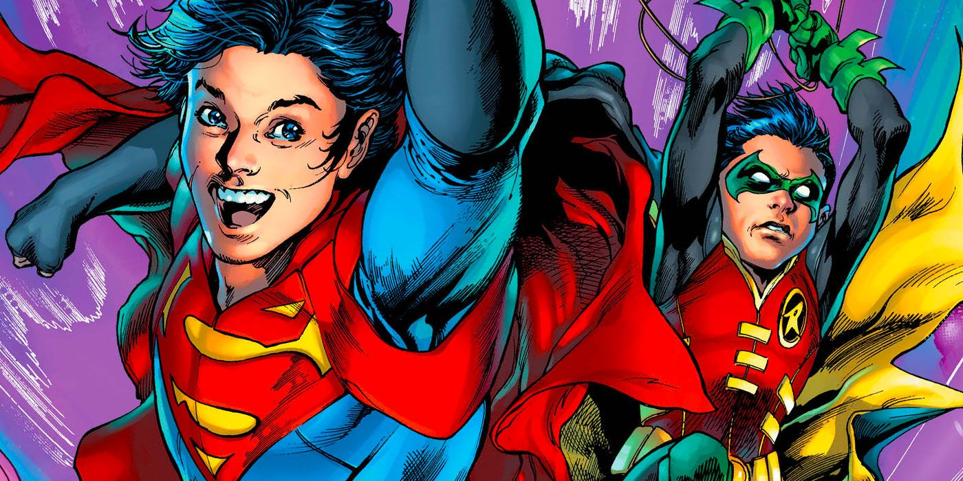 DC's Super Sons, Superboy and Robin, Reunite in Superman #16 First Look