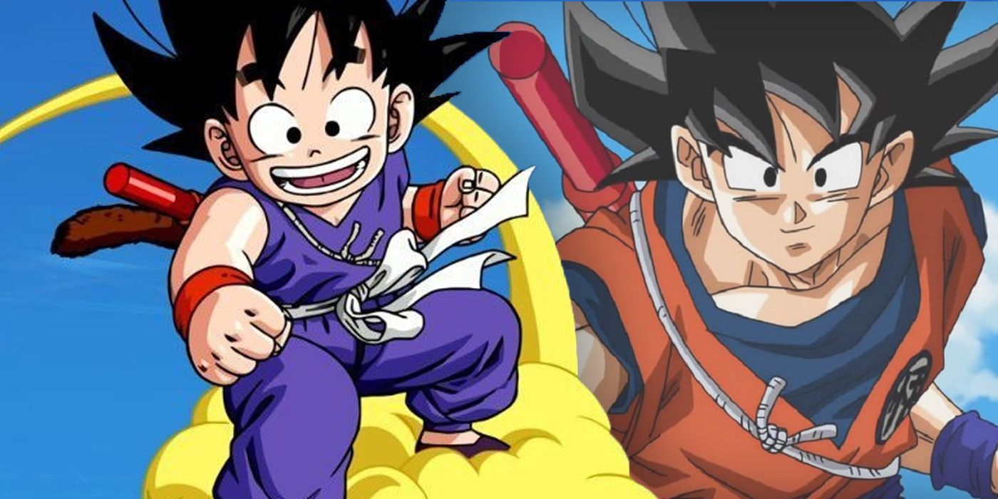 Dragon Ball How Old Is Goku In Every Series Cbr