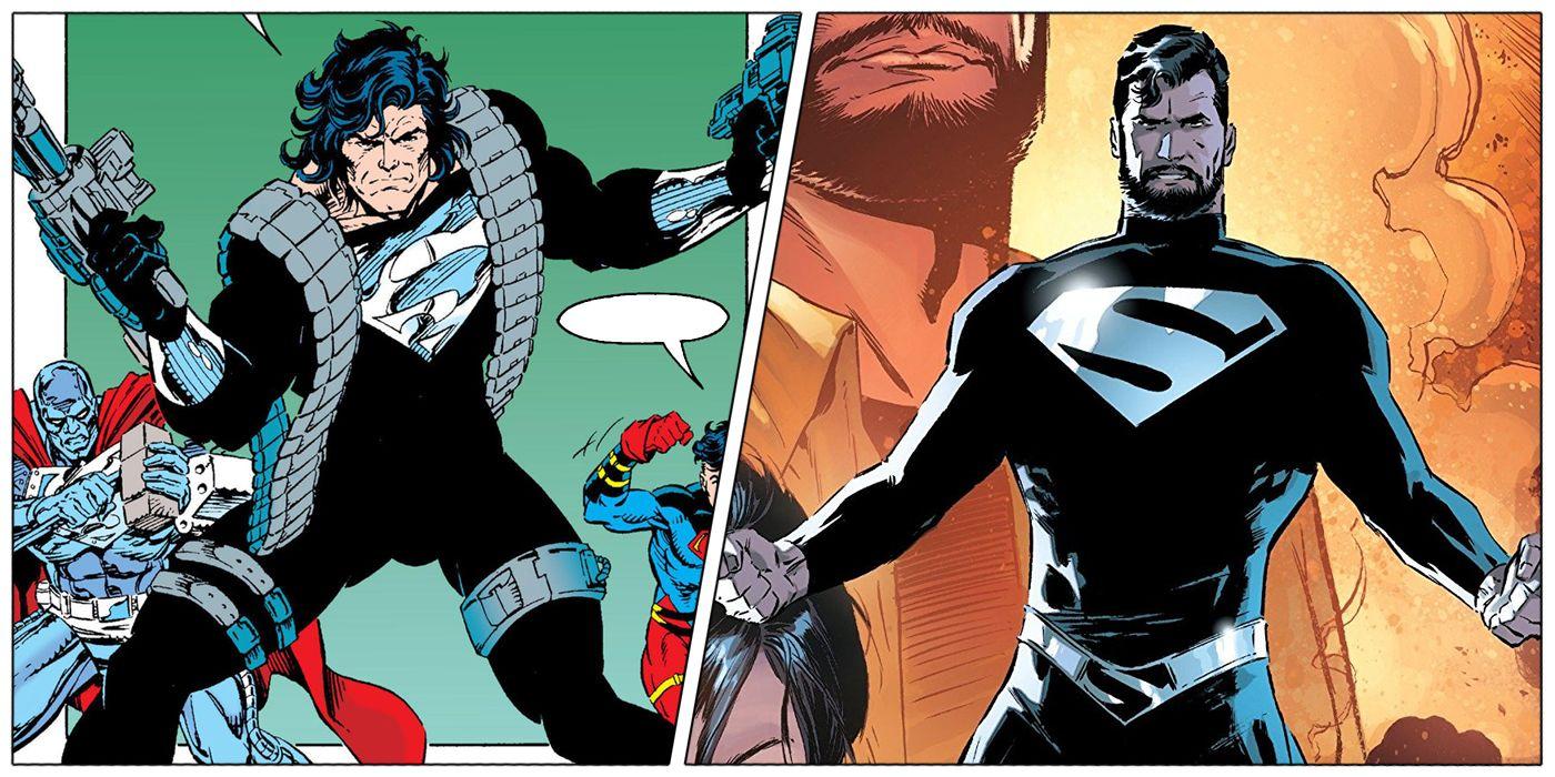 Superman: What Superman's Black Suit REALLY Means   CBR