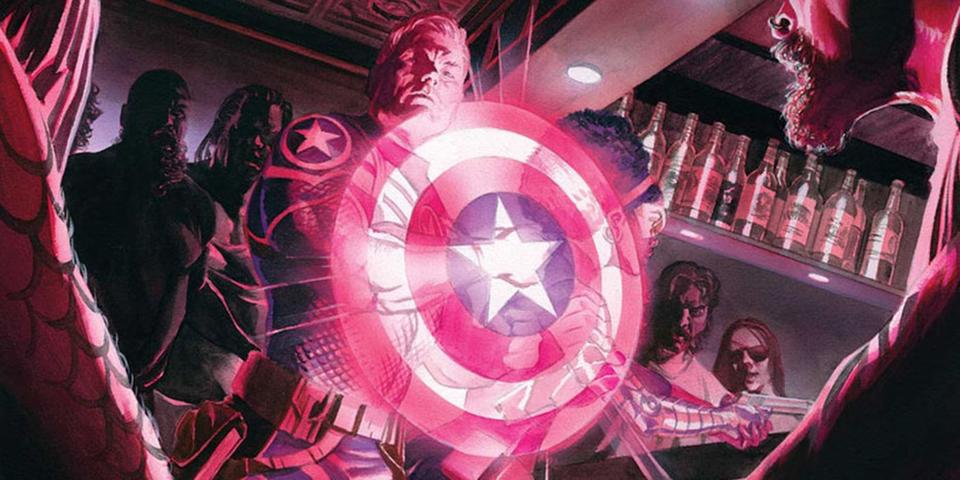 Captain America: Steve Rogers Reclaims Shield - and His Team