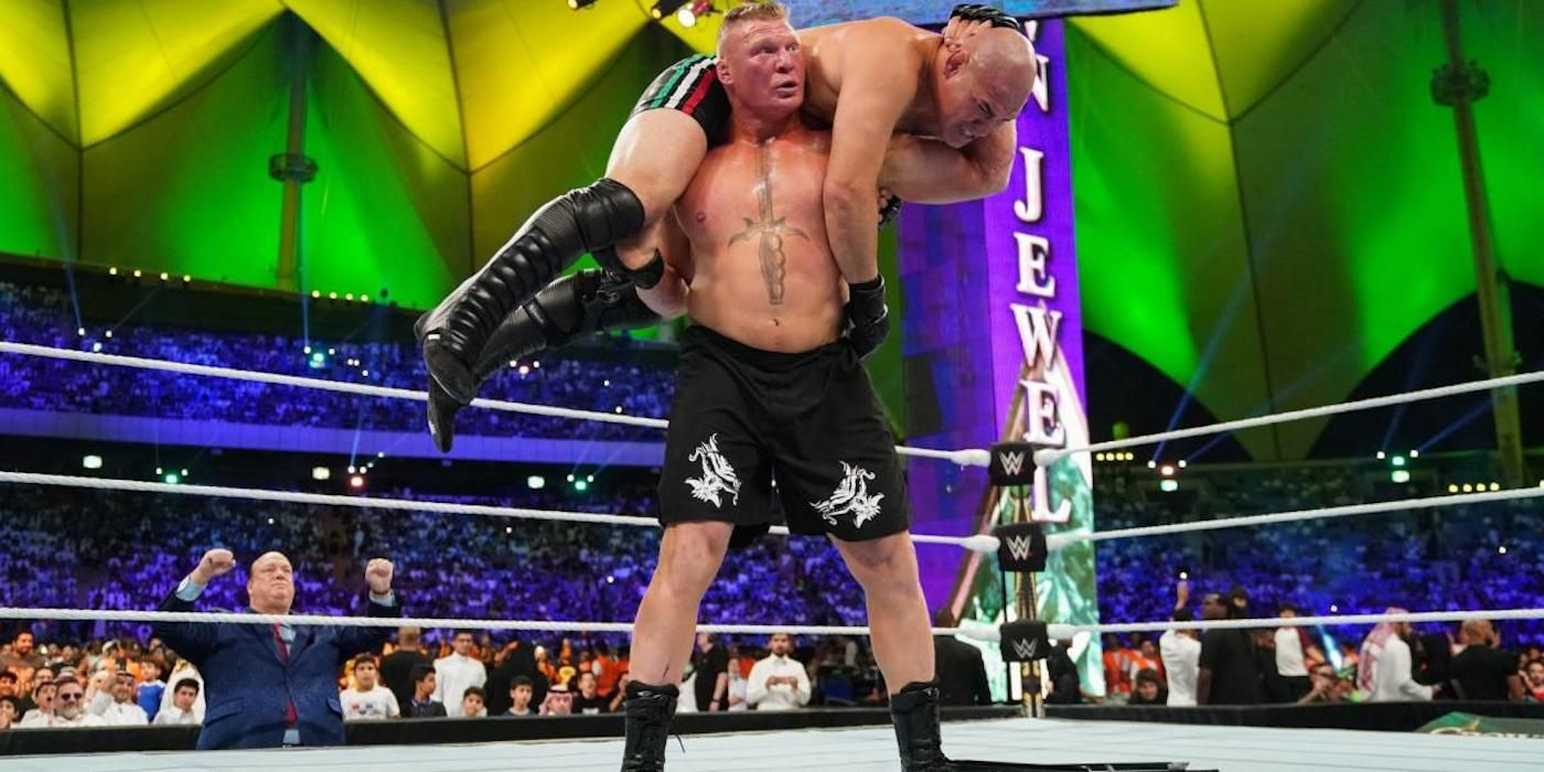What the Hell Has WWE Done to Brock Lesnar? | CBR