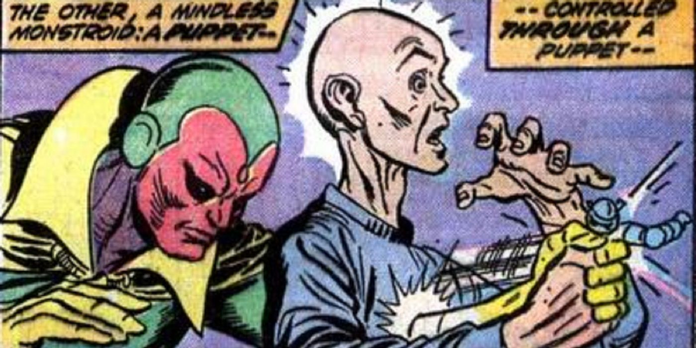 That Time The Puppet Master Knocked The Vision Out With Karate!