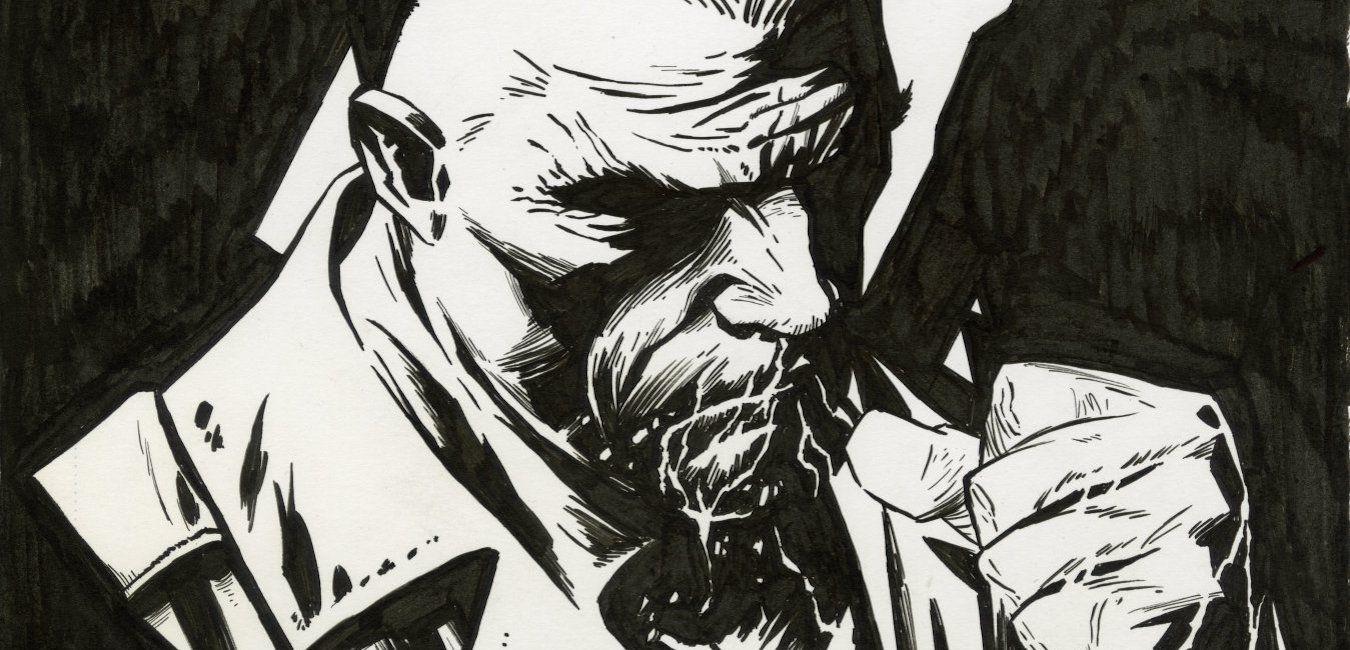Sin City: Joe Quesada Draws Frank Miller's Marv | CBR