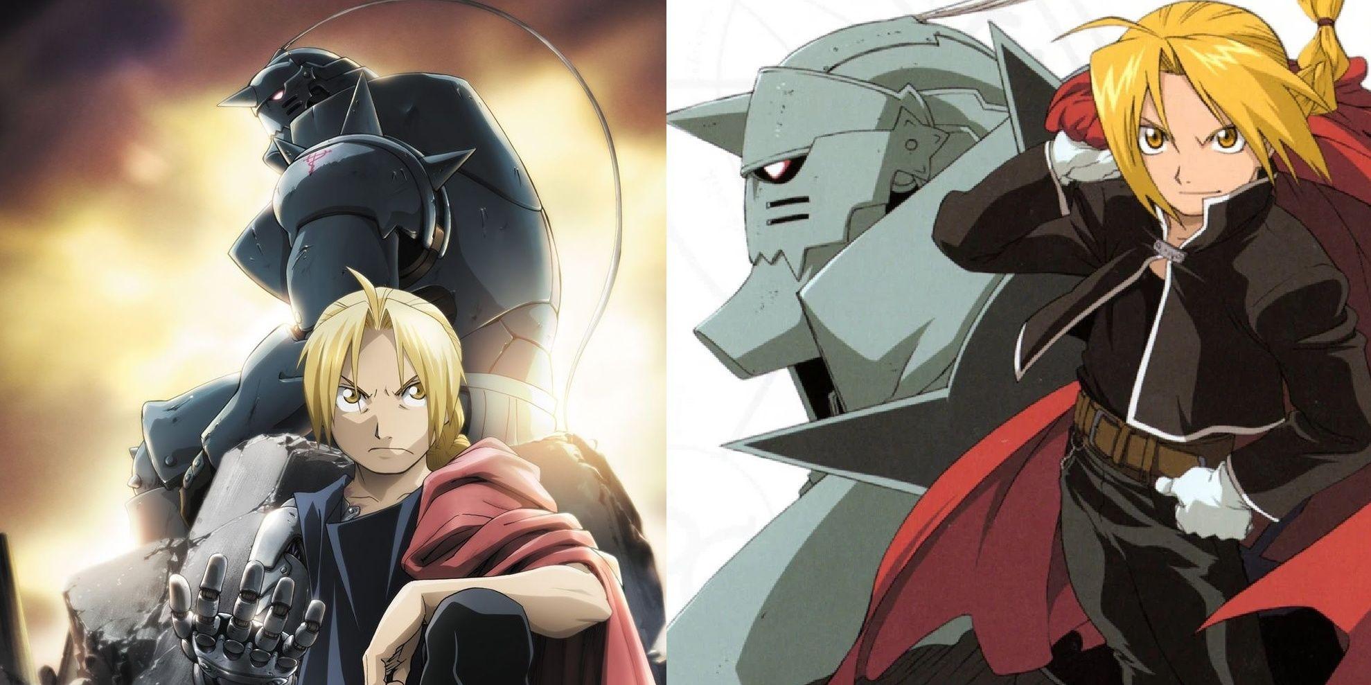 Fullmetal Alchemist Vs. Brotherhood: What's the Difference? | CBR