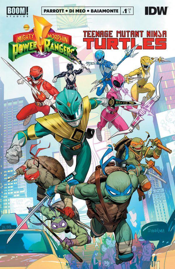 Mighty Morphin Power Rangers/Teenage Mutant Ninja Turles #1 Review