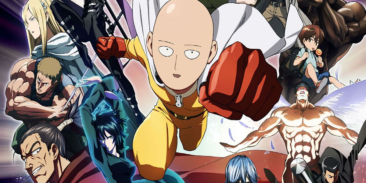 One Punch Man Saitama Faces Off Against A Powerful S Class Hero