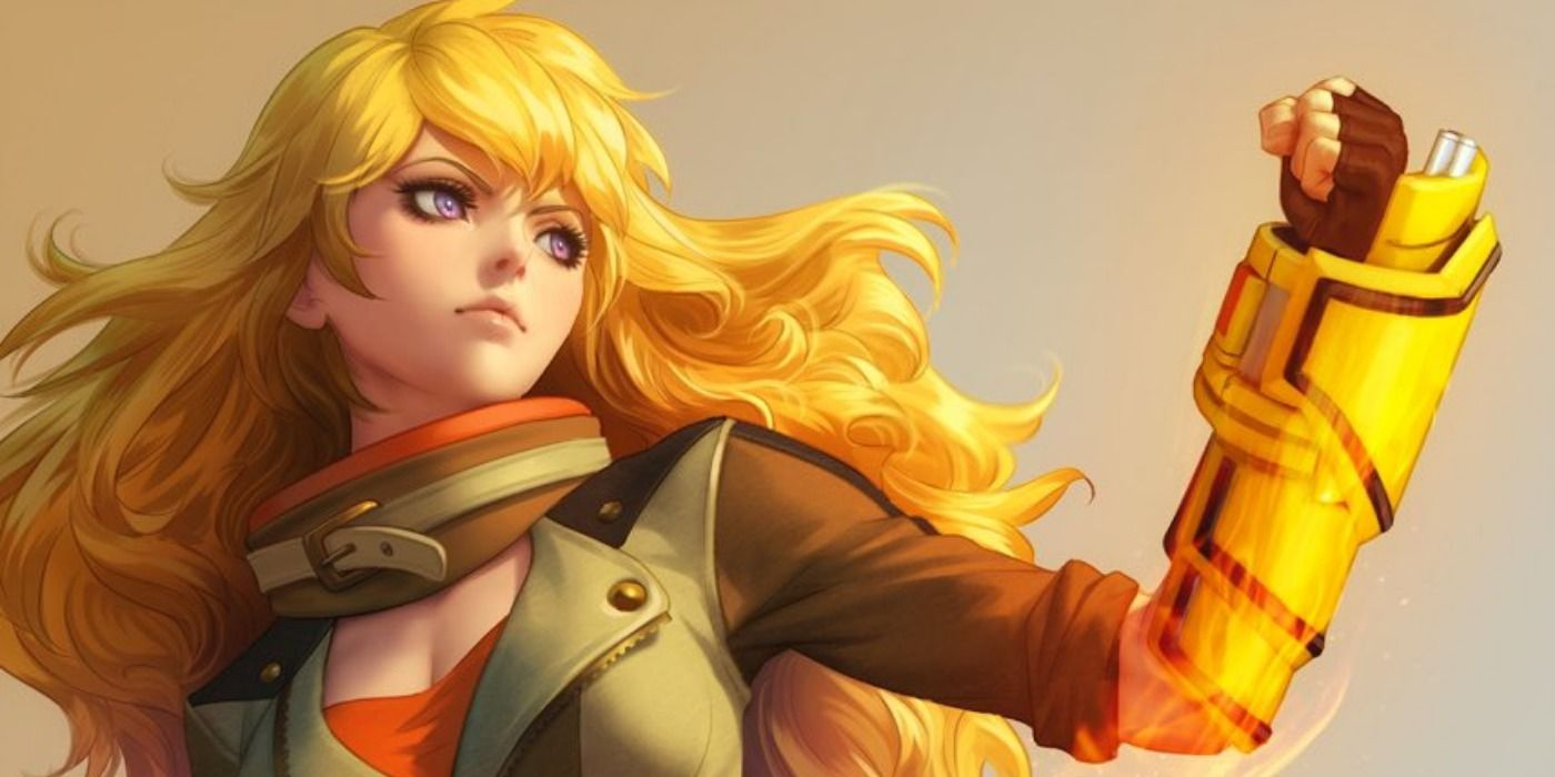 RWBY: Yang Xiao Long Joins the Fray in Artgerm's Final DC Comics Variant
