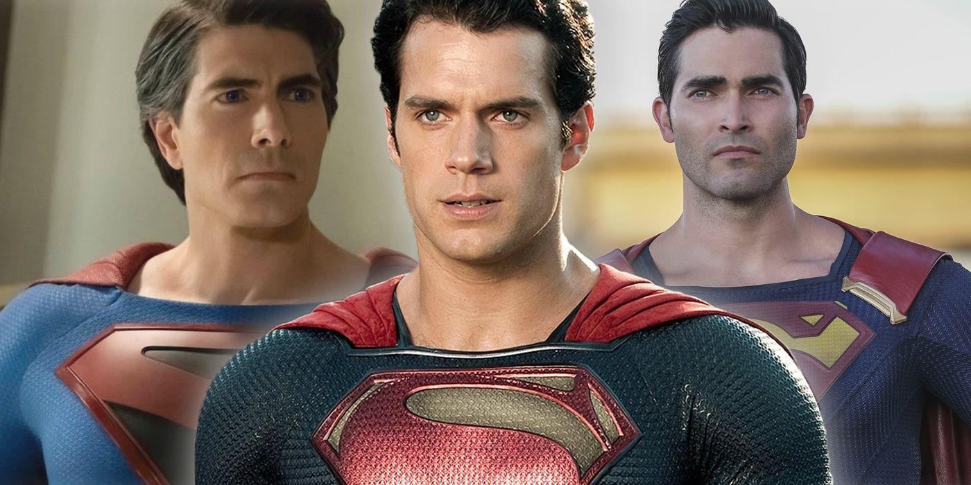 Crisis on Infinite Earths' Superman Brawl Homages Snyder's Man of Steel