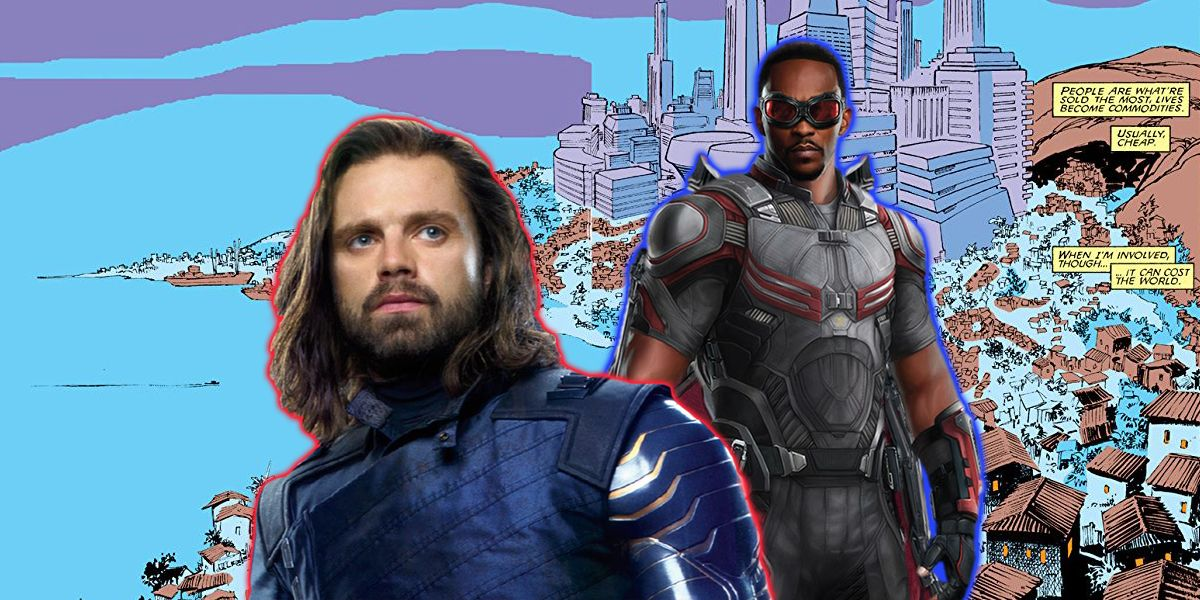Falcon and Winter Soldier: Set Photo Reveals An X-Men Location